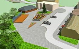 Par Bocmaņa laukuma un ielu pārbūves projektu