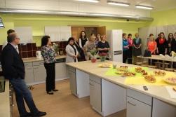 Salacgrīvas vidusskolā jauna mācību virtuve