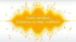 Lai enerģisks Dziesmu un deju svētku sākums!