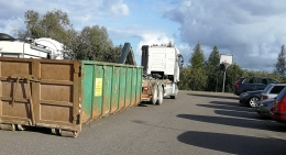 Lielgabarīta atkritumu savākšanas akcija