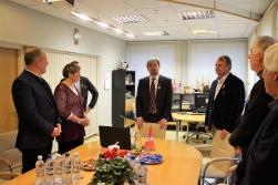 Par Handevitas pašvaldības delegācijas vizīti Salacgrīvā