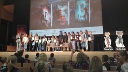 Jauno lasītāju konkursa finālā Salacgrīvas vidusskolas skolēni