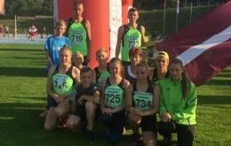 Salacgrīvieši Starptautiskās vieglatlētikas sacensībās Brno