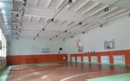 Par Salacgrīvas vidusskolas sporta zāles remonta norisi