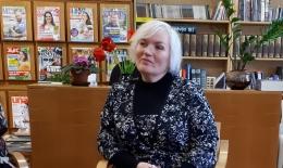 Jana Egle viesojās Salacgrīvas novada bibliotēkā