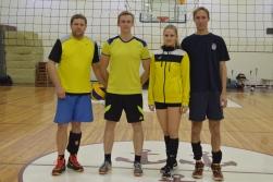 Salacgrīvas novada decembra nakts volejbola turnīrs noslēdzies