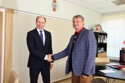 Moldovas vēstnieks Salacgrīvā