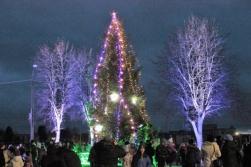 Ziemassvētku ciematiņš Salacgrīvā